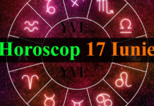 Horoscop 17 Iunie 2018
