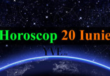 Horoscop 20 Iunie 2018