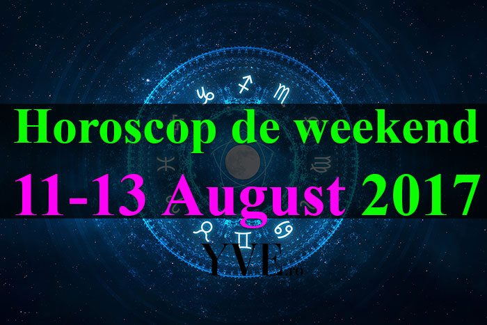 weekend 11-13 August 2017