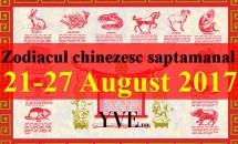 Zodiacul chinezesc saptamanal 21-27 August 2017