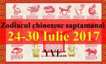 Zodiacul chinezesc saptamanal 24-30 Iulie 2017