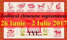 Zodiacul chinezesc saptamanal 26 Iunie - 2 Iulie 2017