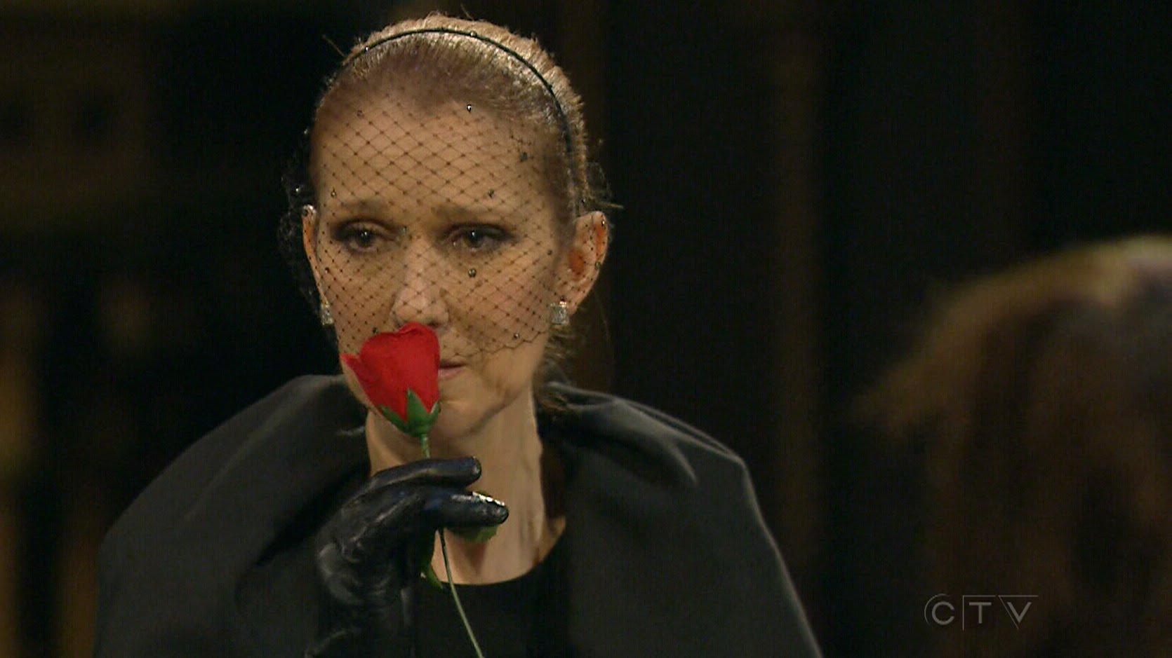 Celine Dion povesteşte cu lacrimi în ochi despre soţul ei 3