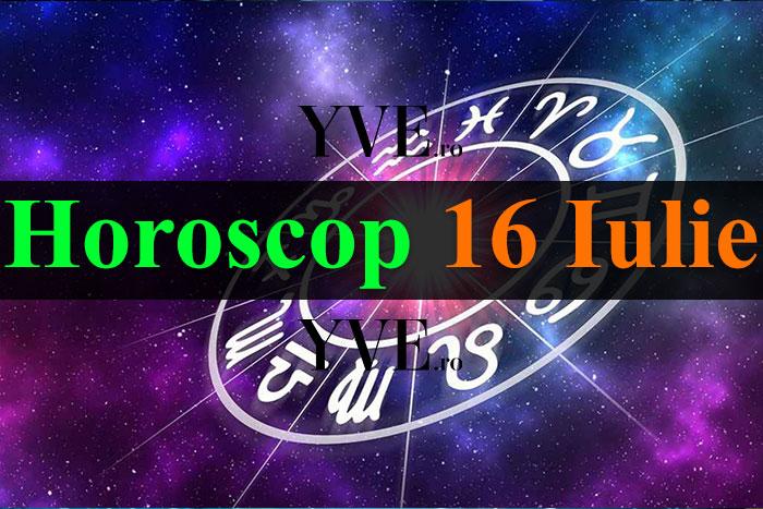 Horoscop 16 Iulie 2019