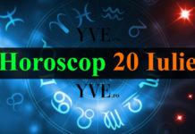Horoscop 20 Iulie 2018