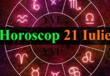 Horoscop 21 Iulie 2018