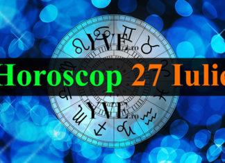 Horoscop 27 Iulie 2018