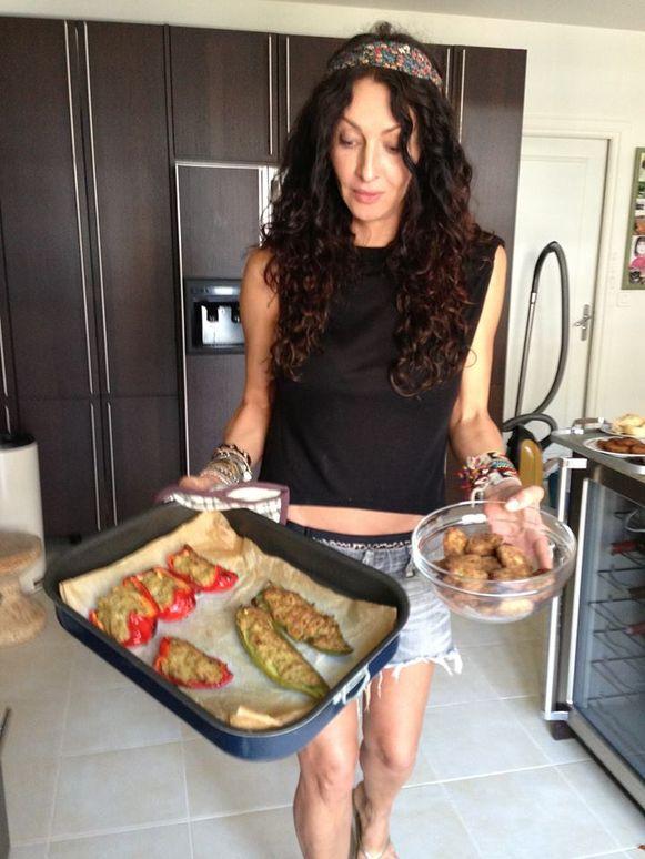 Mihaela Rădulescu îşi prezintă dieta zilnică