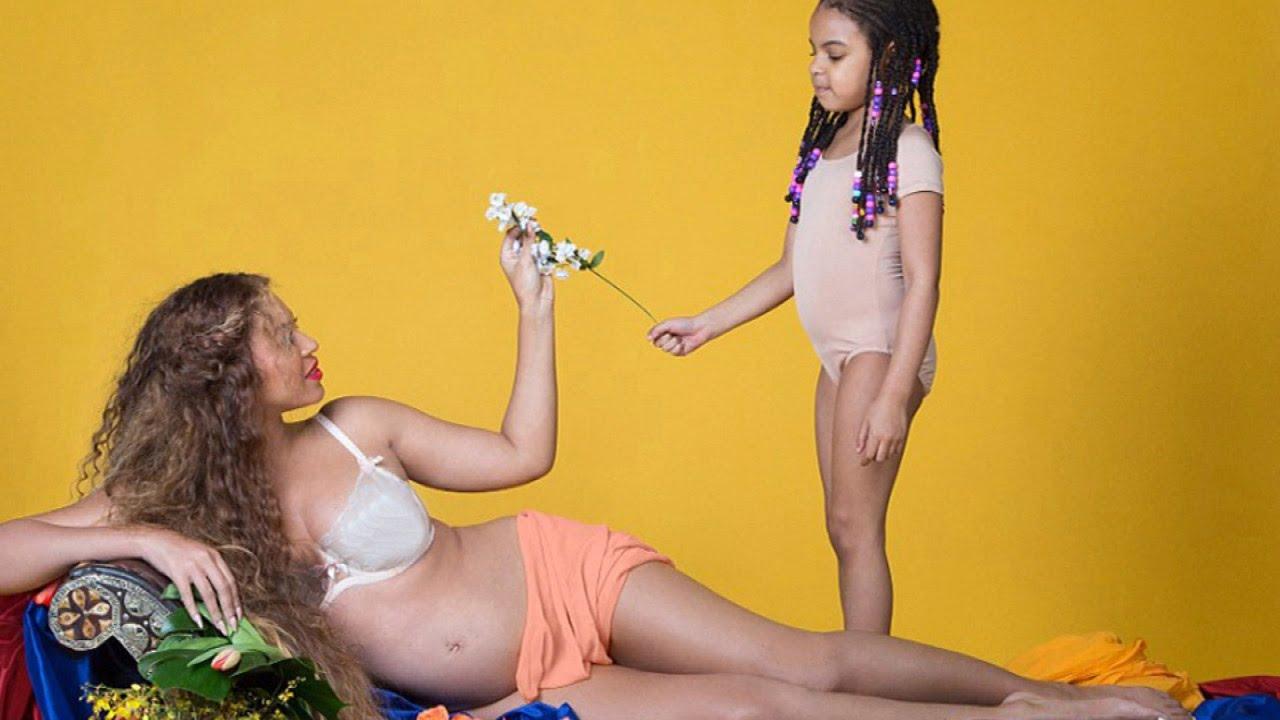 Prima fotografie cu gemenii lui Beyonce 3