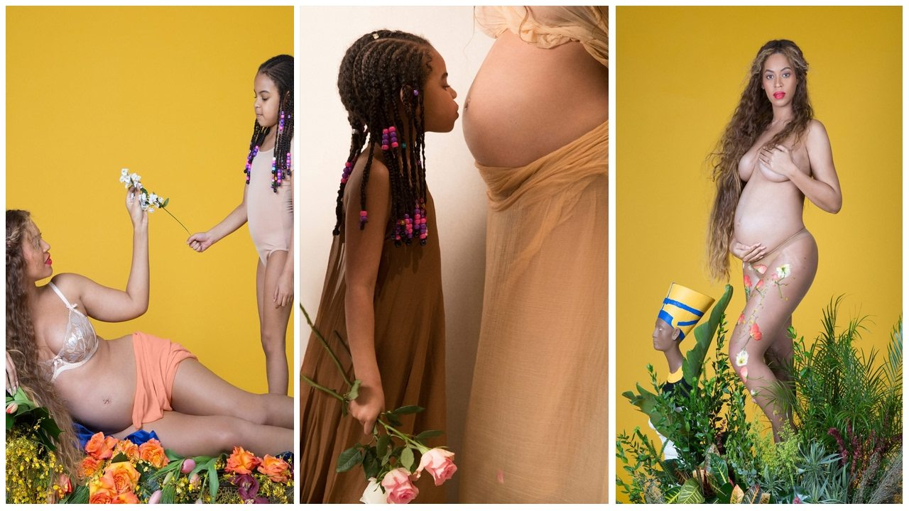 Prima fotografie cu gemenii lui Beyonce 4