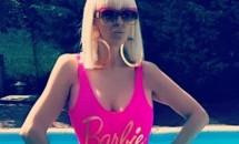 Raluca Bădulescu şi-a etalat corpul la piscină