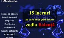 15 lucruri pe care nu le știai despre zodia Balanță