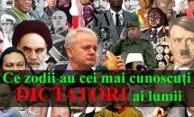 Ce zodii au cei mai cunoscuţi dictatori ai lumii