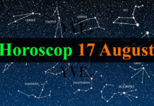 Horoscop 17 August 2018