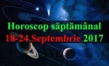 Horoscop săptămânal 18-24 Septembrie 2017