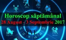 Horoscop săptămânal 28 August - 3 Septembrie 2017