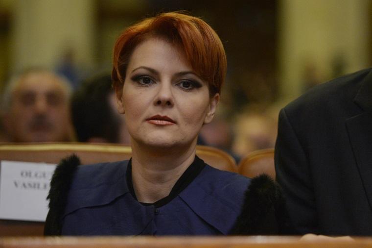 Primarul Craiovei, Olguta Vasilescu, participa la sedinta Consiliului National al PSD, desfasurata in sala C.A. Rosetti a Palatului Parlamentului din Bucuresti, marti, 9 februarie 2016. ANDREEA ALEXANDRU / MEDIAFAX FOTO