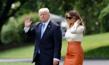 Iată cum arată Melania Trump în costum de baie!