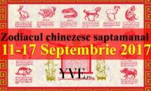 Zodiacul chinezesc săptămânal 11-17 Septembrie 2017