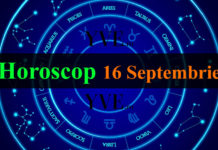 Horoscop 16 Septembrie 2019