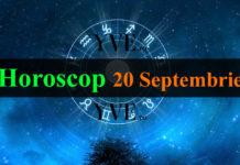 Horoscop 20 Septembrie 2018