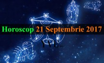 Horoscop 21 Septembrie 2017