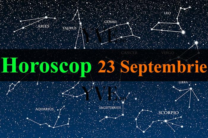 Horoscop 23 Septembrie 2019
