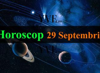 Horoscop 29 Septembrie 2018