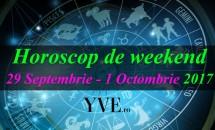 Horoscop de weekend 29 Septembrie - 1 Octombrie 2017
