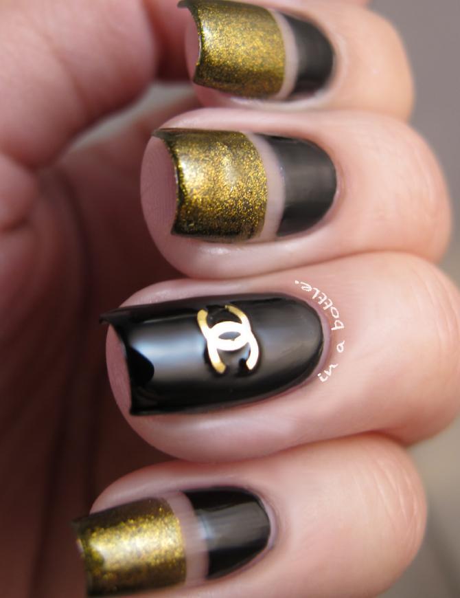 unghii Chanel pentru nunta