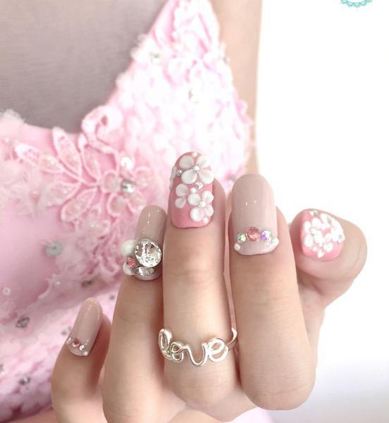 unghii de nunta
