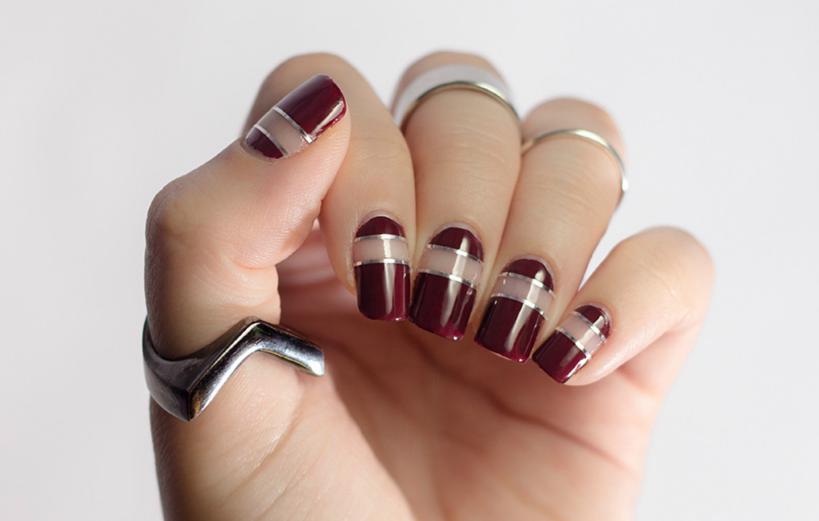 unghii grena pentru nunta