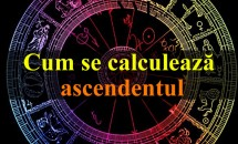 Cum se calculează ascendentul?
