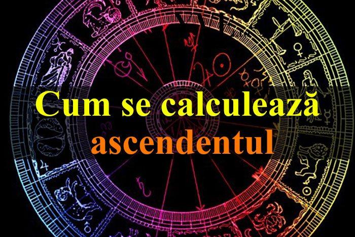 Cum se calculează ascendentul