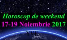 Horoscop de weekend 17-19 Noiembrie 2017