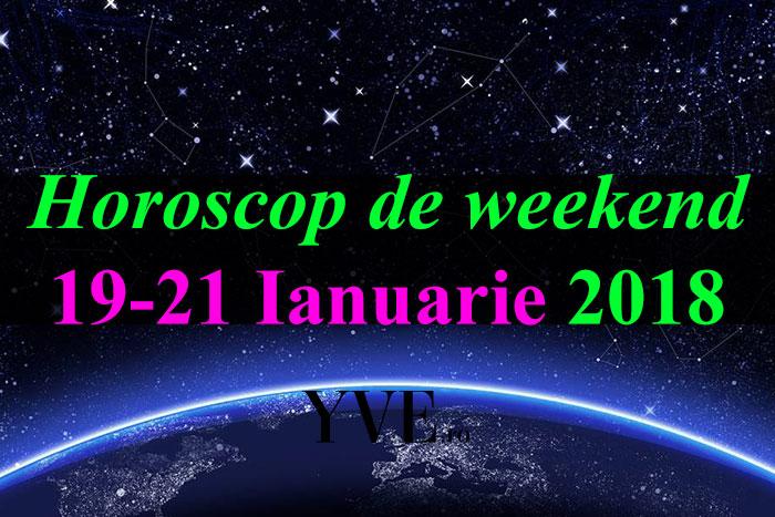 Horoscop de weekend 19-21 Ianuarie 2018