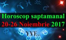 Horoscop saptamanal 20-26 Noiembrie 2017: Capricornii trebuie săfacă o vizită medicului