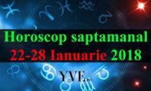Horoscop saptamanal 22-28 Ianuarie 2018