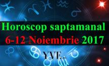 Horoscop saptamanal 6-12 Noiembrie 2017