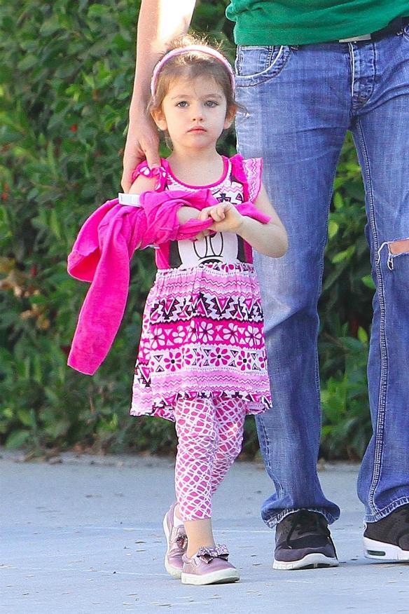 Iată primele imagini cu fetița Milei Kunis și a lui Ashton Kutcher2