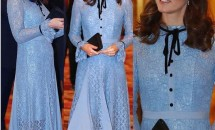 Kate Middleton și-a arătat burtica de gravidă