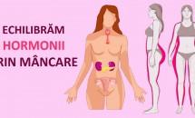 Nivelul hormonal poate fi echilibrat prin alimentație