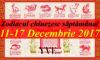 Zodiacul chinezesc săptămânal 11-17 Decembrie 2017
