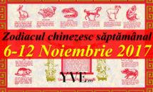 Zodiacul chinezesc săptămânal 6-12 Noiembrie 2017