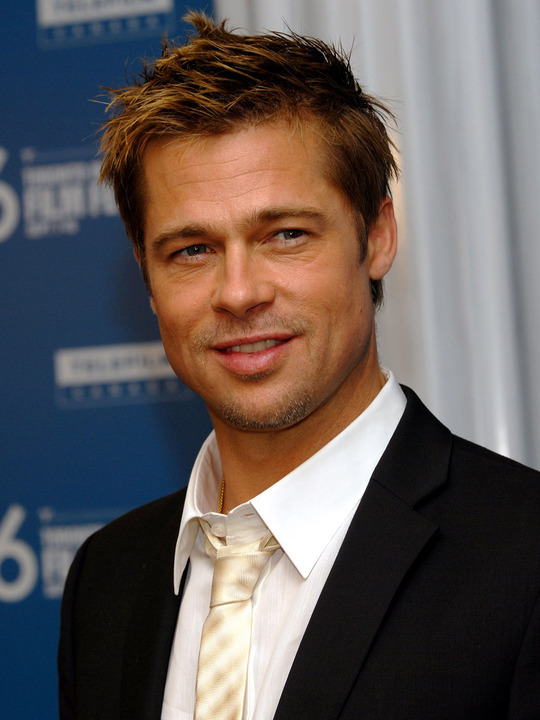 "Brad Pitt attends the Toronto International Film Festival press conference for ""Babel"" at the Sutton Place Hotel in Toronto, Canada on September 10, 2006. (UPI Photo/Christine Chew) [Photo via Newscom] upiphotos721762_TOR2006091031.jpg"