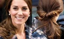 Cum să obții în 5 pași o coafură ca a lui Kate Middleton