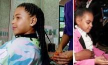 Fetița lui Beyonce îi seamănă perfect mamei sale
