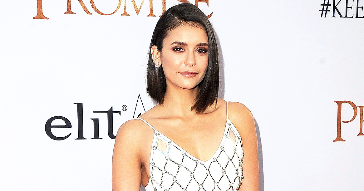 """HOLLYWOOD, CA - APRIL 12: Actress Nina Dobrev arrives at the Los Angeles Premiere """"The Promise"""" at TCL Chinese Theatre on April 12, 2017 in Hollywood, California. (Photo by Jon Kopaloff/FilmMagic)"""