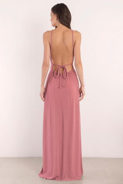 rochie lunga fara spate