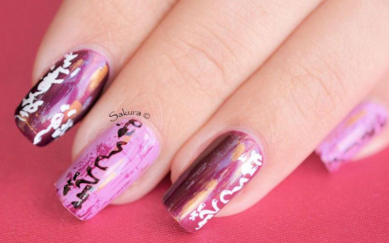 unghii-cu-gel-roz
